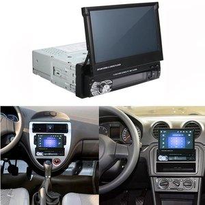 """Image 2 - Podofo 7 """"Android Mirror Link Radio samochodowe odtwarzacz MP5 Bluetooth GPS DVD AUX IN /FM Autoradio Multimedia do uniwersalnego Audio stereo"""