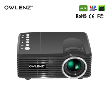 The Cheapest Mini LED Projector Portable LCD Projector Multimedia Video Player SD30 Projector w/ USB SD AV Port for Kids Toy