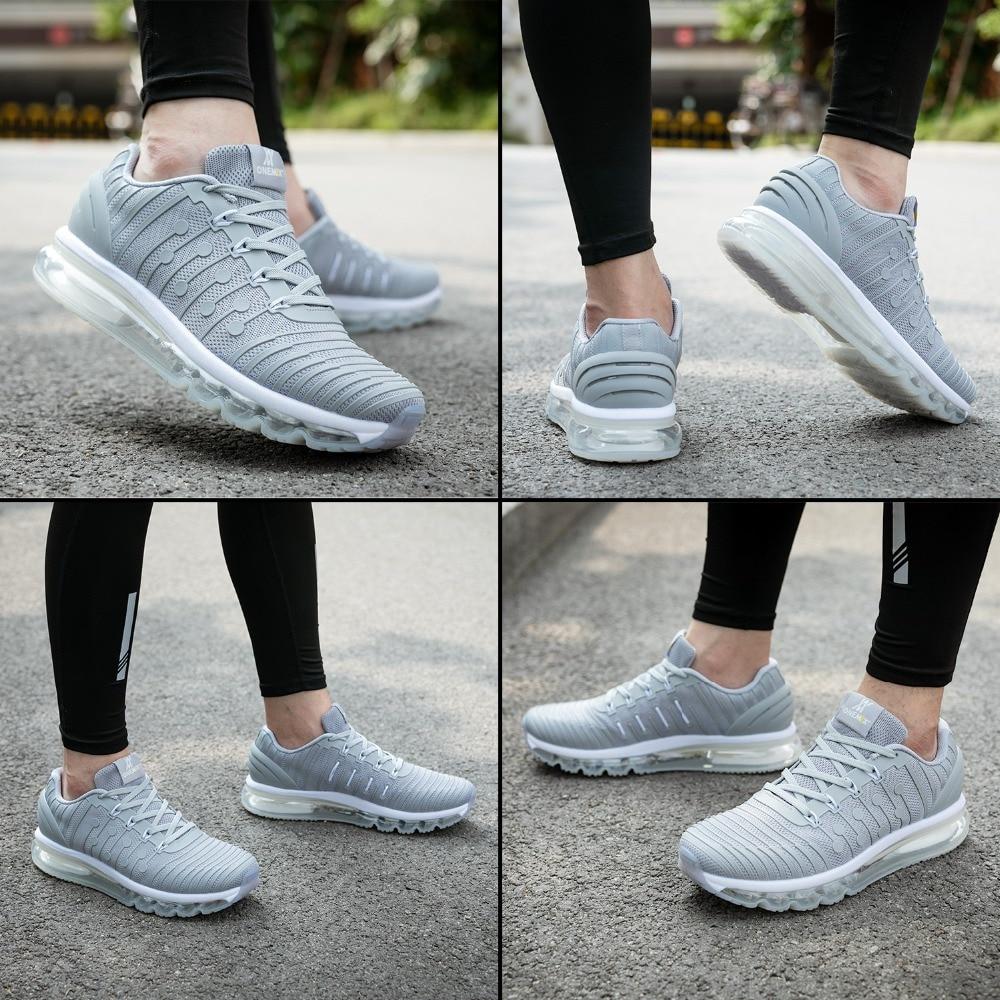 ONEMIX кроссовки для бега, мужские кроссовки с высоким берцем, новинка 2019, удобные кроссовки с амортизацией, спортивная обувь для тренировок, обувь для взрослых мужчин, большие размеры - 5