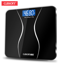 GASON A2 Bathroom Floor Body Scale Glass Smart Household Electronic Digital Weight Balance Bariatric LCD Display