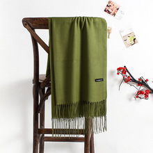 solid color soft women scarf cashmere scarves lady shawl