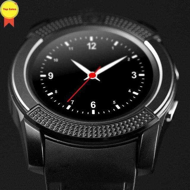 927f4e48aa4 Relojes inteligentes 2G SmartWatch Bluetooth pantalla táctil reloj de  pulsera 0