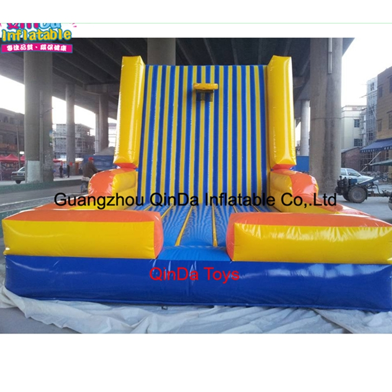 Big Inflatable Toys Inflatable Sticks Wall/Sticky Wall,Toys And Hobbies Kids Games Inflatable Magic Jump Wall Castle For Sale commercial sea inflatable blue water slide with pool and arch for kids