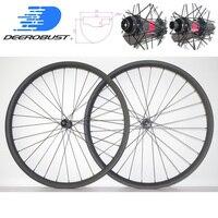 DT 240 s BOOST 28 мм x 38 мм Асимметричная 29er MTB Trail AM углерода колесная довод Tubeless без крючков горный велосипед колеса 28 отверстия