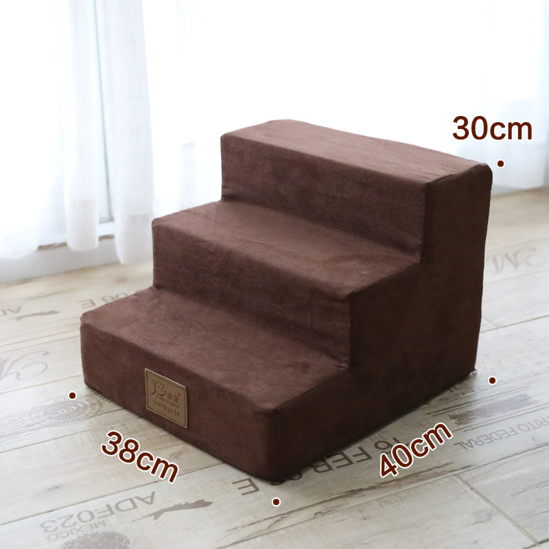 Pet Stairs Ramp Bed 3 Steps Ladder Jump Stairs for Small Dogs Puppy Cat Bed Cushion Mat  Dog Bed House Drop ShippingPet Stairs Ramp Bed 3 Steps Ladder Jump Stairs for Small Dogs Puppy Cat Bed Cushion Mat  Dog Bed House Drop Shipping