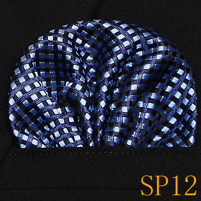 New Paisley Floral Men Silk Satin Pocket Square Hanky Jacquard Woven Classic Wedding Party Handkerchief  12356