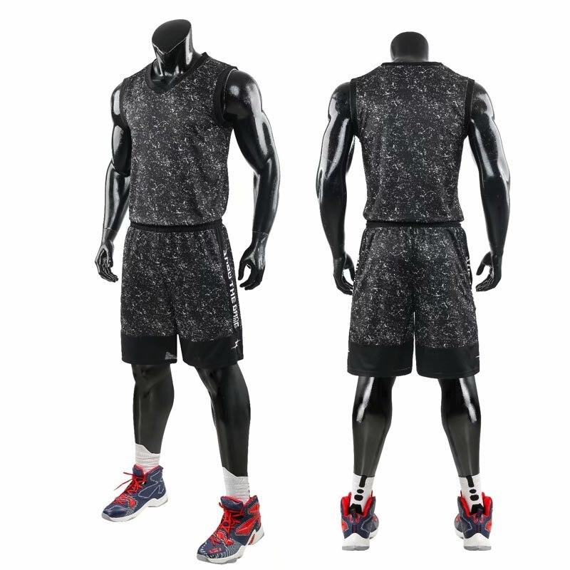 גברים ספורט בגדי כדורסל גופיות חליפת נסיגה גופיות מכנסיים קצרים Mens נשים כדורסל מדים ערכת אימונית
