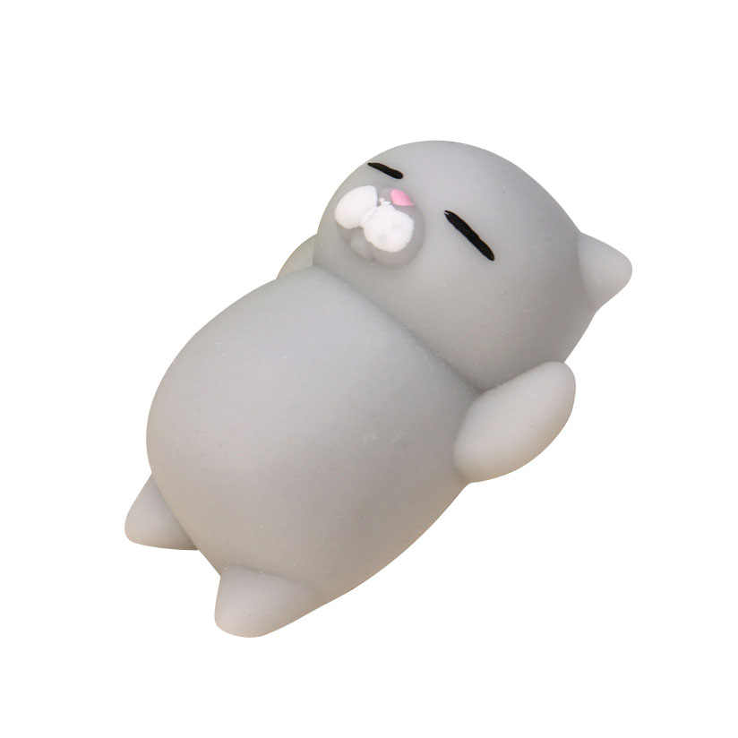 2019 zabawki antystresowe Chancellory Slime piękna zabawka Kawaii kot Squish śliczne fajna zabawka Squish antystresowy Squishy I0120