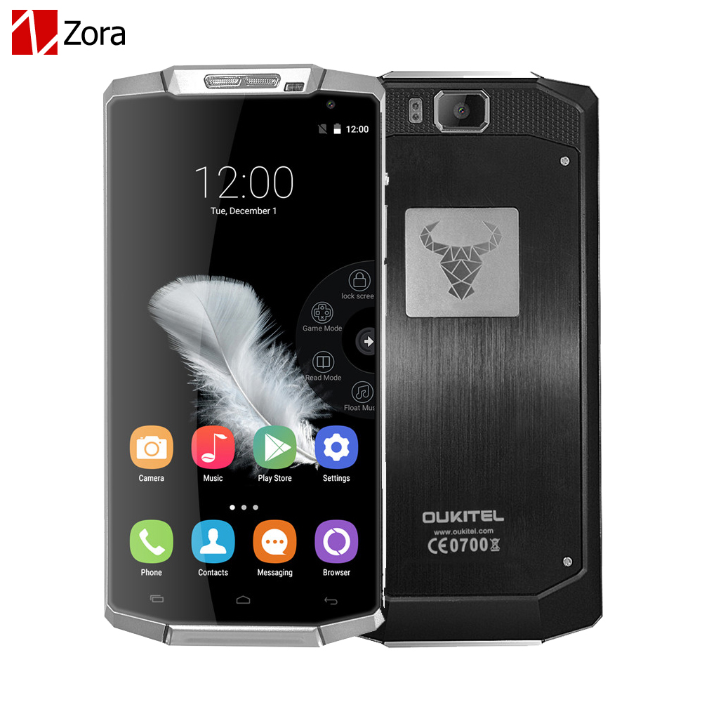 Original Oukitel K10000 5 5inch Android 5 1 MTK6735 Quad Core Smart Cell Phone 2GB Rom