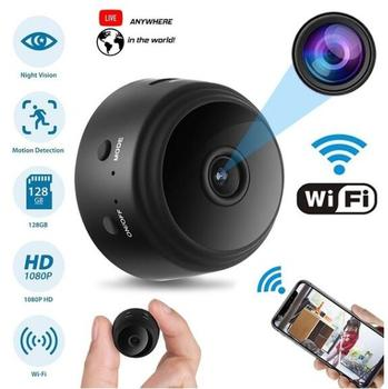 HYUCHON Wi-Fi мини-камера беспроводная HD 1080P няня камера с дистанционным обзором/детектором движения/ночного видения IP рекордер безопасности
