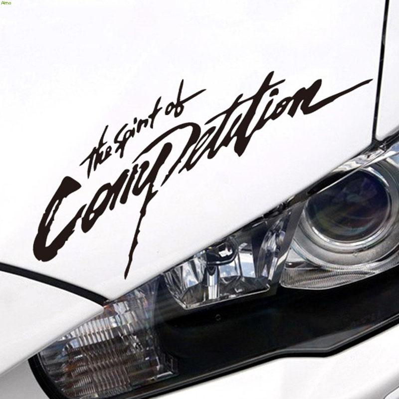 COMPETITION car lamp eyes refit vinyl sticker on car for bmw e46/toyota/ford focus 2/opel/skoda/audi a4,die cut decor styling