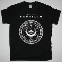 BEREICHEN DER NEPHILIM 2009 LOGO GOTHIC ROCK DIE MISSION neue schwarz t-shirt druck männer kurzarm clothing t hemd