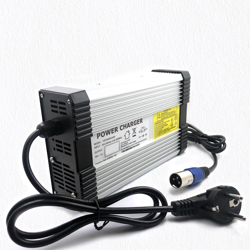 XINMORE 63V 6A Lithium Battery Charger for 55.5V Li ion Polymer Scooter E bike Ebike With CE ROHS Chargers     - title=