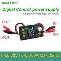Fonte De alimentação de Controle Digital 50 V 5A Ajustável Reguladores de Tensão Constante corrente Constante DC testador voltímetro Amperímetro