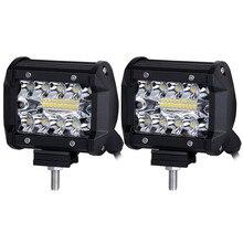 12v led working light car accessories bar barra Car Lights Off-road lighting headlights 12V-24V 60W Wholesale price