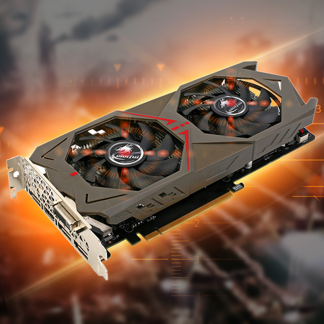 Colorful NVIDIA GeForce GTX 1060 GPU 3GB GDDR5 192bit PCI-E X16 3.0 VR Ready Gaming Video cards Graphics Card 1708MHz for CS GO