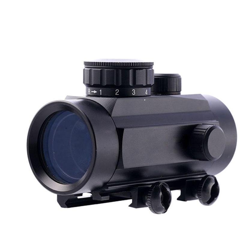 Red Dot Sight Scope Tactical Optics Riflescope Fit 11/20mm Rail Rifle Scopes ABS Red Dot Sight Scope For Hunting Accessories