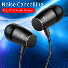 In-Ear 3.5mm Earphone Headphones with Mic Earbuds Gaming Headset for iPhone6 6S xiaomi Bass Stereo Wire Handsfree fone de ouvido цена