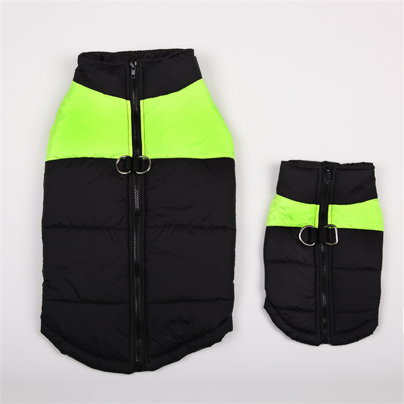 Waterproof Pet Dog Puppy Vest Jacket Chihuahua Clothing Warm Winter Dog Clothes Coat for Small Medium Large Dogs 3 COLORS S M L