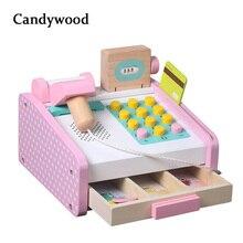 Candywood Pretend Play Groceries Toys Supermarket Cash Register Scanner Checkout