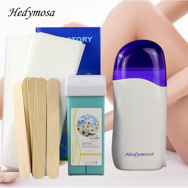 Hedymosa Hair Removal Epilator Wax Machine 110-240V  waxing For Depilation Body wax Strips Depilador Electric Wax Heater W