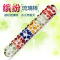 New 2015 glass dildo anal plug butt sex toys unique special intimate toys sex products for man women self defense Double dildo