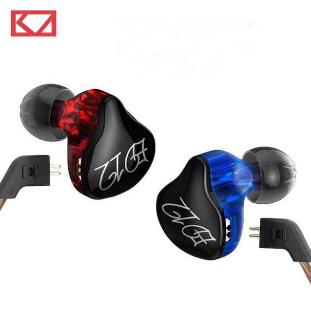 2016 original kz ed12 correr deporte auriculares de cancelación de ruido en la oreja los auriculares estéreo de alta fidelidad bss monito auricular auricular