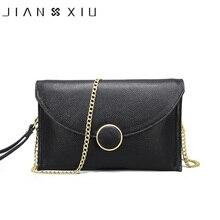 JIANXIU Brand Women Messenger Genuine Leather Bag Chain Shou