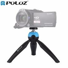 PULUZ Portable Pocket Mini Tripod Mount with 360 Degree Rotation Panoramic Tripod for GoPro  Smartphones DSLR DV Video camera