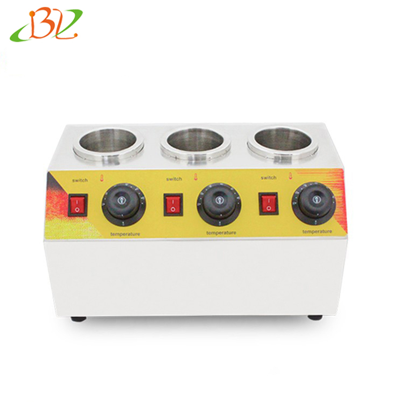 Commercial Hot Chocolate Soy Sauce Filling Spread Warmer Bottles Heating Machine Stainless Steel Electric Jam Heater 220v/110v