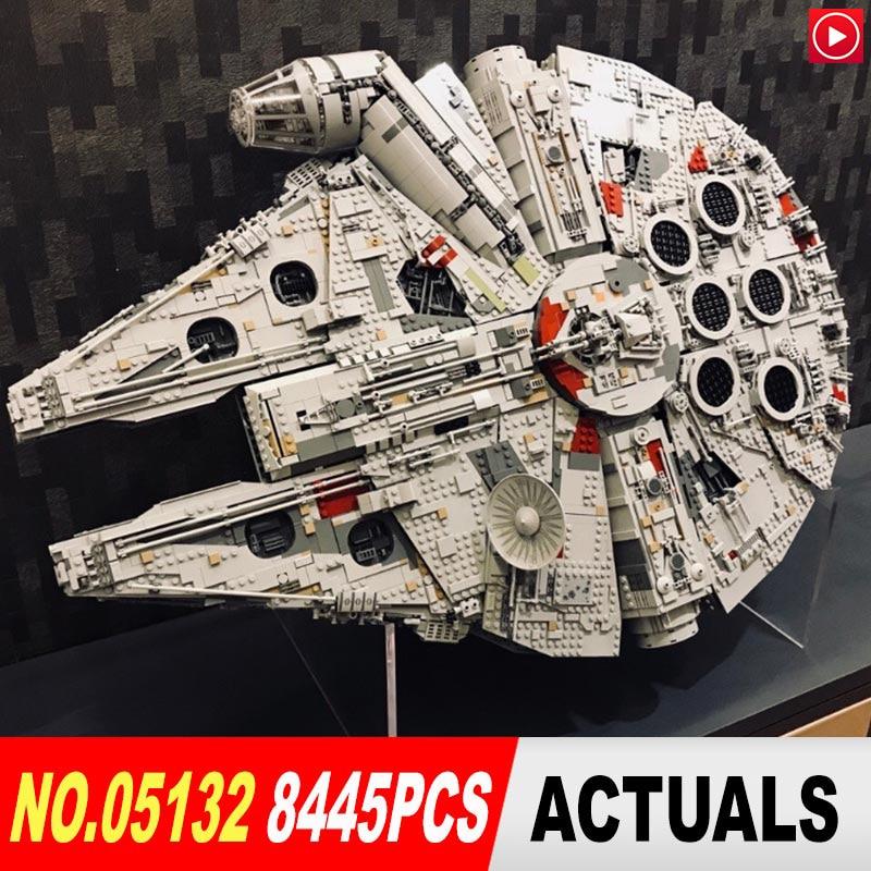 Legoed Star lepin WARS Technic 05132 Destroyer 75192 Millennio LegoINGly Falcon Mattoni Blocchi di Costruzione di Modello Giocattoli Star wars giocattolo