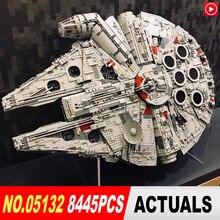 Legoed STAR Лепин войны техника 05132 Разрушитель 75192 тысячелетия LegoINGly Сокол кирпичи модель здания Конструкторы игрушечные лошадки игрушка «Звездные войны»