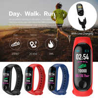 M3 Plus Bluetooth Smart Bracelet Smart Band Sports Band Fitness Tracker Blood Pressure Heart Rate Monitor Sleep monitor
