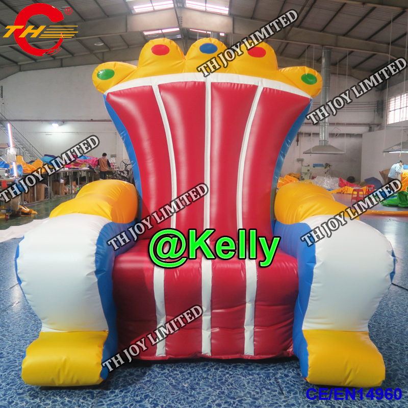 Inflatable Kids Birthday Chair: Free Air Shipping Inflatable Throne Chair, 2m High Pvc