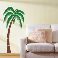 Tropical Palmera Palm Tree Etiqueta de La Pared Tatuajes de Pared Grande árbol Pegatina Para Sala de estar Dormitorio Vinilo Removible Home Decor 694 T