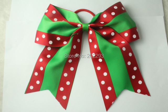 6 7 inch christmas halloween cheerleading bows