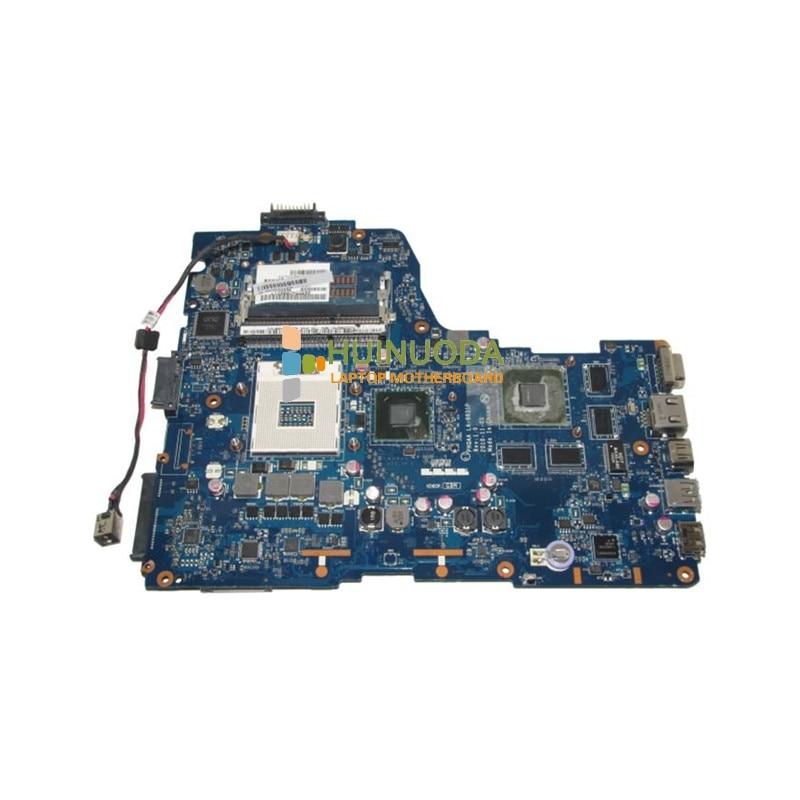 NOKOTION K000125700 LA-6831P laptop motherboard for Toshiba A665 Intel HM65 with Nvidia VGA DDR3 Mainboard ytai for asus a54ly x54ly x54hy k54hr a54hr k54ly laptop motherboard rev2 1 intel hm65 ddr3 pga989 mainboard 100% working