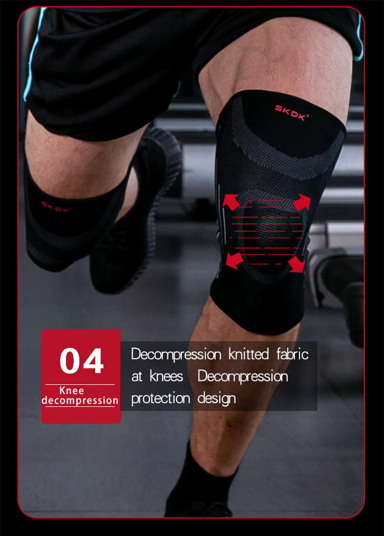 9c9c26dbeb 2019 Men'S Running Sports Knee Brace Fitness Meniscus Anti Ladies ...