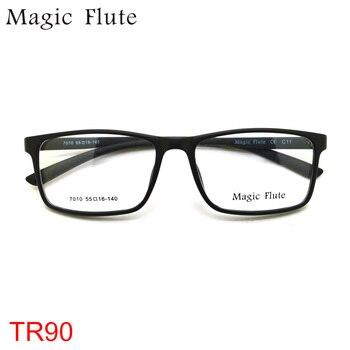 Nouveauté TR90 lunettes lumière flexible optique montures lunettes femmes ou hommes cadre mode prescription Vintage lunettes 7010