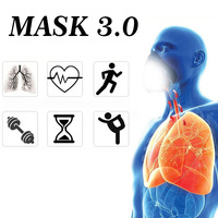 Dropshipping Sport Training Mask 3.0 Cycling Face Mask Fitness Workout Gym Exercise Running Bike Bicycle Elevation Cardio Mask