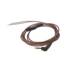 3,5 мм из бескислородной меди, четыре ядра, 3-сваевыдрегиватель наушников аудио кабель DIY наушники обслуживание провода