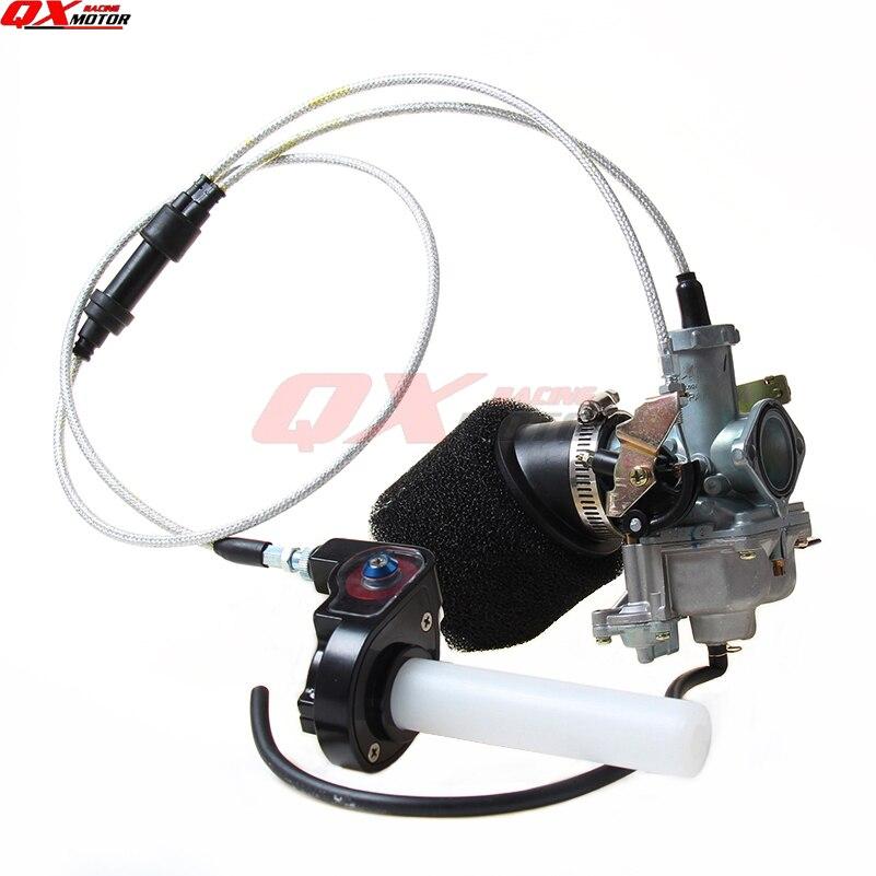 Карбюратор 30 мм carb PZ30, прозрачная заслонка с двойным кабелем, воздушный фильтр IRBIS|keihin 30mm|pz30 carburetoraccelerator pump | АлиЭкспресс