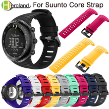Sports Silicone watch strap For Suunto Core watchBand Smart Replacement TPU Wristband Accessories Bracelet men