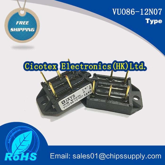 VUO86-12N07 MODUEL IGBT VUO86-12NO7 RECT BRIDGE 3PH 1200V ECO-PAC1 Three Phase Rectifier Bridge VU086-12NO7