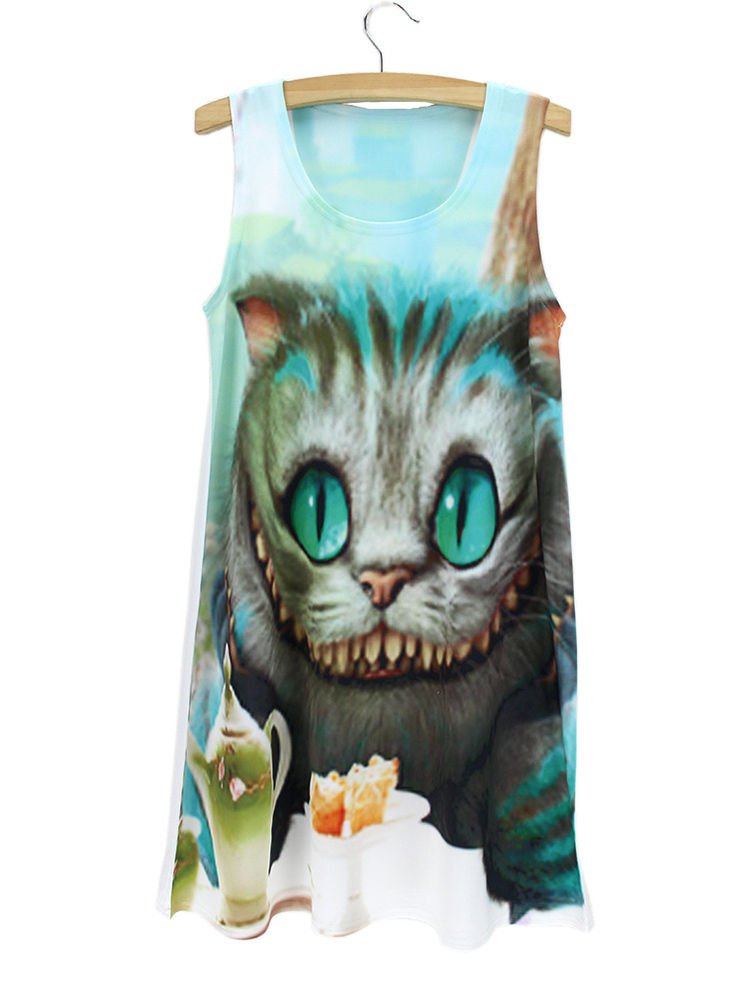 foto de best womans summer blue eyed cat dress ideas and get free shipping ...