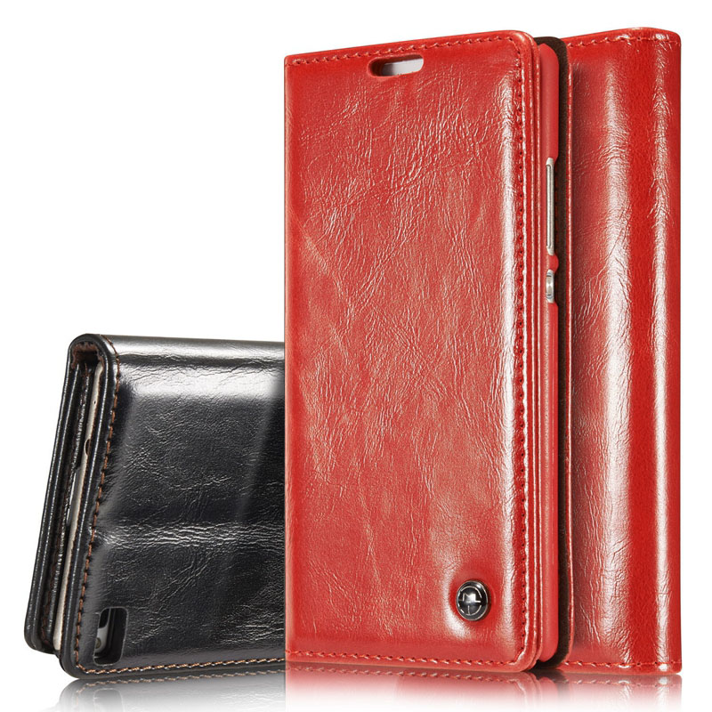 CaseMe Luxury R64 Leather Stand Wallet Case Magnetic Credit Card Phone Cover for iphone 5 6 7 plus lg g4 g5 Samsung S8 Plus Sony