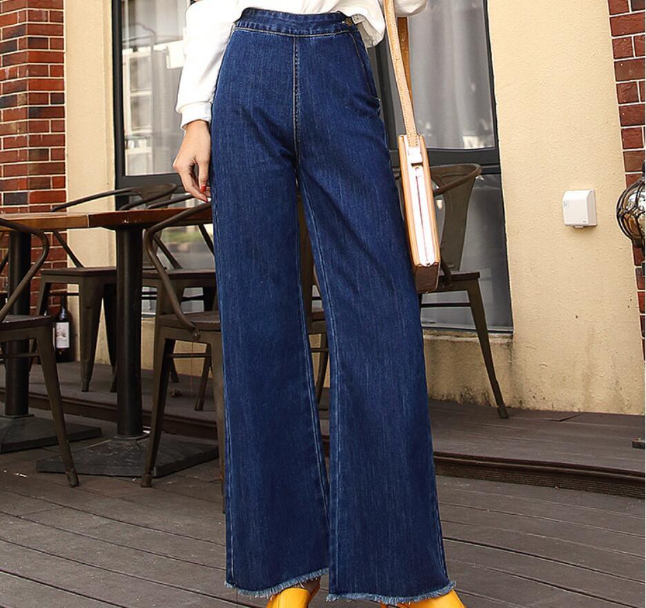 678c1dc923b0c Nouveau-printemps-et-automne-2018-jeans-jambes-larges-pour-les-femmes -et-les-tudiants.jpg