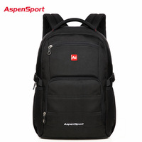 AspenSport Waterproof Backpack Unisex Backpacks For Laptop Notebook Bag Backpack 15 6 To17 Inch