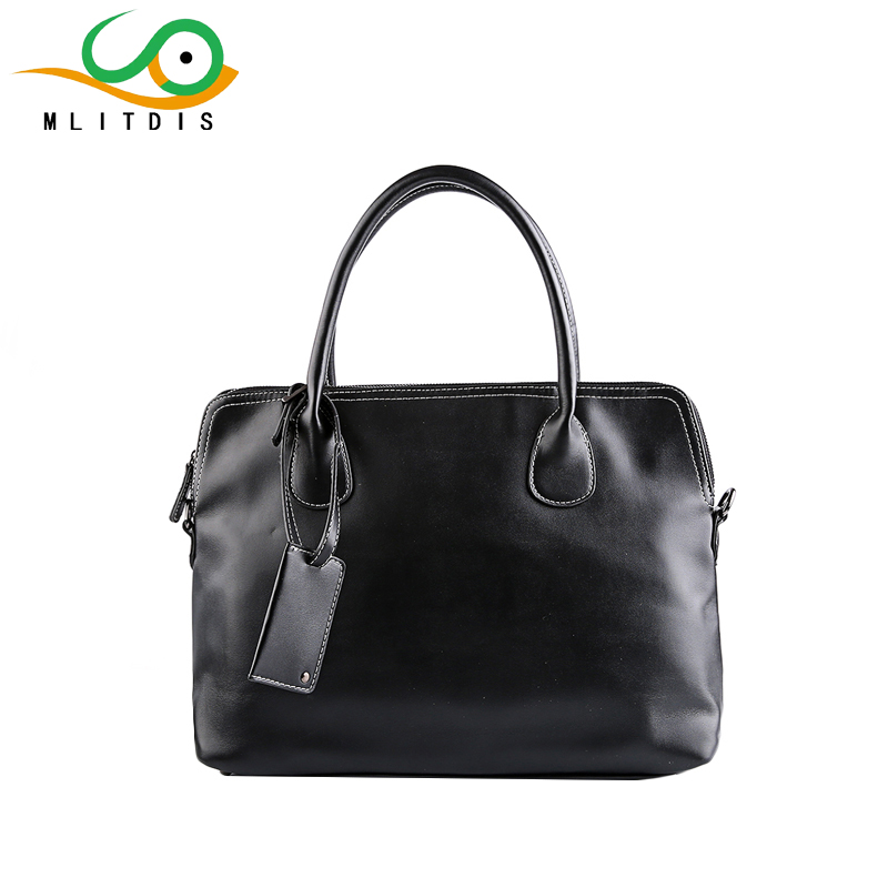 ФОТО MLITDIS Men Casual Briefcase Business Shoulder Bag pu Leather Messenger Bags Computer Laptop Handbag Bag Men's Travel Bags Solid