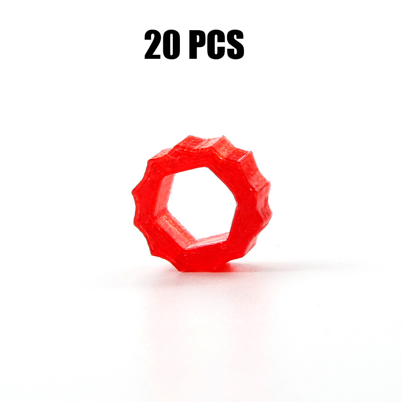 20PCS Assisting Wheel 3D Printed SMA Antenna Slip Connector Hand Wrench Gadget Lollipop for RC Drone Spare Parts Accessories image